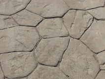 Деталь тротуара conrete Стоковая Фотография RF