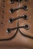 Деталь укомплектовывает личным составом ботинок Стоковое фото RF