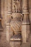 Деталь украшения старого Шелка ExchangeLonja de Ла Seda, Va Стоковые Изображения RF