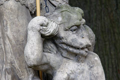 Деталь укрощенного дьявола Стоковые Изображения RF