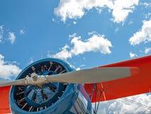 Деталь упорки и двигателя воздушного судна пропеллера Стоковая Фотография RF