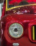 Деталь фары винтажного автомобиля Стоковые Фото