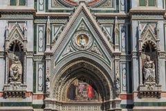 Деталь Firenze di Duomo Стоковые Изображения