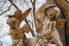Деталь фонтана в Мадриде стоковая фотография rf