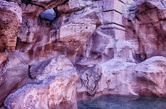 Деталь фонтана Trevi rome стоковые фотографии rf