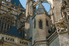 Деталь церков Барбары Святого Kutna Hora Стоковое фото RF