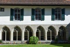 Деталь церков замка на Интерлакене Стоковое Фото