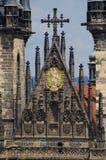 Деталь церков Tyn Стоковое Изображение RF