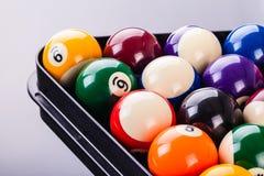 Деталь шариков биллиарда Стоковое Изображение RF
