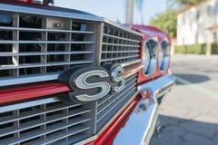 Деталь Chevrolet Camaro SS Стоковое Изображение