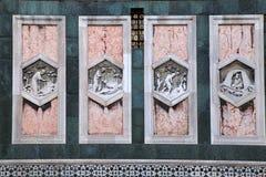 Деталь di Santa Maria Del Fio базилики Duomo церков собора Стоковая Фотография