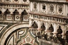 Деталь Duomo Il, Флоренс Стоковые Фотографии RF