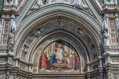 Деталь Firenze di Duomo Стоковые Изображения RF