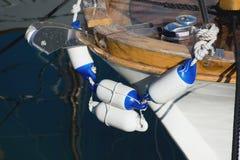 Деталь Fishingboat Стоковое Изображение RF