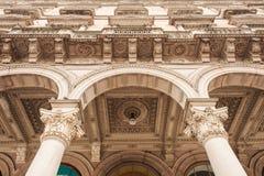Деталь Galleria Vittorio Emanuele II Стоковые Фотографии RF