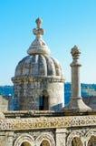 Деталь Torre de Belem Стоковое Изображение RF