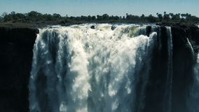 Деталь Victoria Falls сток-видео