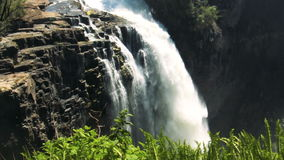 Деталь Victoria Falls видеоматериал