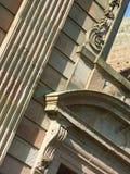 Деталь XVIII века archiectural Стоковое фото RF