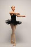 детеныши балетной пачки балерины черные Стоковые Изображения RF