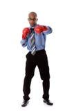 детеныши бизнесмена афроамериканца привлекательные стоковая фотография rf
