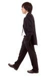 детеныши бизнесмена гуляя стоковая фотография
