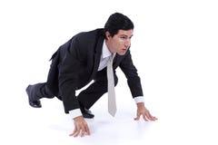 детеныши бизнесмена многодельные самомоднейшие Стоковая Фотография RF