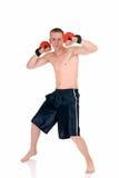детеныши боксера мыжские тайские Стоковая Фотография RF