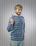 детеныши бритвы человека Стоковое Фото