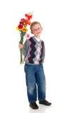 детеныши Валентайн влюбленности мальчика Стоковые Фотографии RF