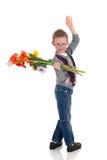 детеныши Валентайн влюбленности мальчика Стоковое Изображение RF