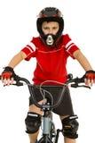 детеныши велосипедиста Стоковое Изображение RF