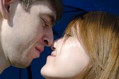 детеныши влюбленности пар Стоковое Изображение