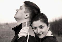 детеныши влюбленности пар Стоковые Фотографии RF