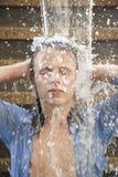 детеныши воды человека Стоковые Изображения RF