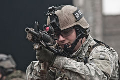 детеныши воина патруля Стоковое фото RF