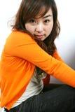 детеныши девушки Азии стоковая фотография
