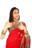 детеныши девушки одежды индийские традиционные Стоковые Фотографии RF