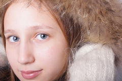 детеныши девушки Стоковая Фотография