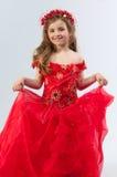 детеныши девушки costume Стоковая Фотография