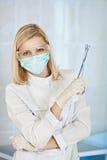 детеныши доктора женские медицинские стоковая фотография rf
