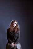 детеныши женщины ведьмы halloween Стоковые Фото