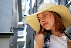 детеныши женщины городка Стоковые Фотографии RF