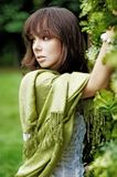 детеныши женщины зеленого цвета III Стоковые Фото