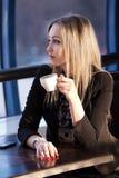 детеныши женщины кафа стоковая фотография rf