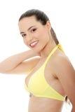 детеныши женщины красивейшего бикини кавказские Стоковые Фотографии RF