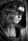 детеныши женщины маски Стоковые Фото