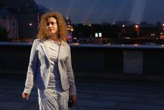 детеныши женщины моста Стоковые Фотографии RF