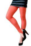 детеныши женщины ног платья сексуальные короткие стоковая фотография rf