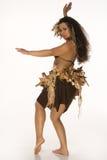 детеныши женщины обмундирования tahitian Стоковые Изображения